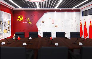 广州地铁12号线党建展厅案例